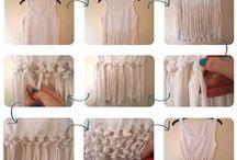 Customisation Tee-shirt / couture