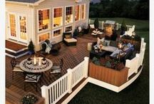 Deck designs / ideas for your outdoor oasis