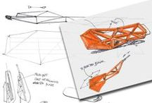 Sketches: Industrial Design / Amazing Industrial Design sketches - the foundation for incredible inventions.