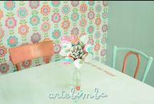 (spazio)ArteBIMBA / I nostri spazi, ArteBIMBA è il regno dell'handmade e del reciclo colorato!
