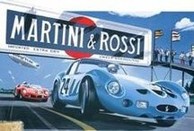 Vintage Race Posters