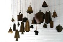 """Bells & Chimes / """"Think when the bells do chime, 'T is angels' music."""" -George Herbert"""