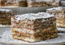 Édes-sós sütemények-Édességek / Sós sütik