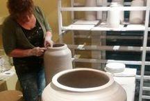 My ceramic art work / www.marjokedeheer.com