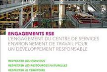 SNCF / Séminaire RSE / Conception, direction artistique et rédaction d'une brochure RSE pour la Direction des Centres de Services SNCF (octobre 2015)