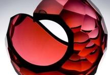 Red Art Glass