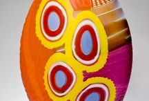 Multi Coloured Art Glass