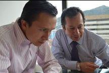 En la Oficina de MagazindelaRadio.com / Magazindelaradio.com @magazintodelar @agenciaupideas @fernoticias