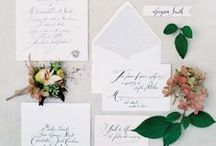 Stationery / Wedding Invitations and Stationary / by Lovebird Designs