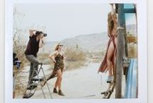 PARADISE CITY BTS / Behind the scenes of our lookbook shoot for Paradise City in Joshua Tree with model mega babe Kassi Smith!  / by Vanessa Mooney