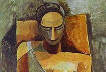 Mujeres en el Arte / Diversos artistas y sus propias representaciones de la mujer..