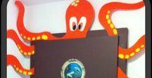 Ocean Themed Classroom Ideas / Dive into learning with these ocean themed classroom ideas!