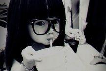 Nerdy Glasses B] / Cute!