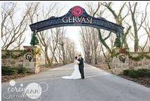 Weddings at Gervasi Vineyard / Wedding images from Gervasi Vineyard by Corey Ann Photography http://www.coreyann.com