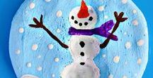 Winter K-2 Classroom Ideas / Crafts, gift ideas, thematic lessons and materials for Winter
