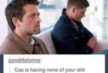 hot people and blood / Supernatural