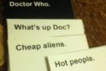 hot people and aliens / Doctor Who