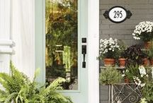 Curb Appeal / Getting your curb appeal on!