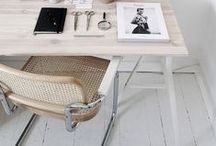 workspace - werkplek / Tessa van Hoogstraten Interiors - www.tessavanhoogstraten.nl -Interiors - Home - Inspiration - Colour - Design - Living - Decoration - Style - Furniture - Livingroom - Bedroom - Kitchen - Bathroom - Cafe - Restaurant - Bar - Horeca - Interieur - Styling - Design