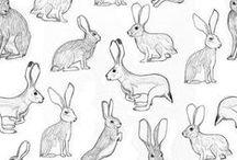 ❥ bunnies: accessories, fashion & art
