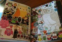 Smash books/ junk journals / I love this special form of art journaling
