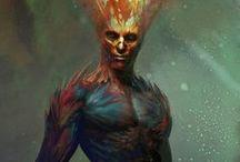Simulacrum / Creatures, sorcerers
