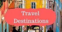 Travel destinations / Travel destinations | Travel destination ideas | Travel inspiration