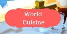 World cuisine & drinks / World cuisine | tasty dishes from around the world | What to eat around the world | Drinks to try