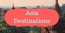 Asia Destinations / Asia Destinations | Asia Locations| Must visit places in Asia