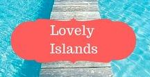 Lovely islands / Island travel| what to see on different islands | Pictures of islands