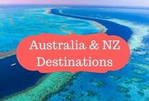 Australia & NZ / Australia & New Zealand Destinations