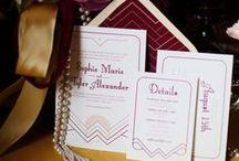 Wedding Invitations, Reception Decor & Paper Goods