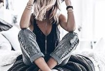 BOHO CHIC STYLE / a collection of the wonderful looks of a bohemian lifestyle