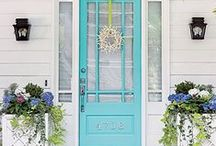 Front door colors and styles... / by Jane Moreno