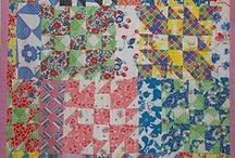 Quilts: Vintage Patchwork / by Carmen Martinez