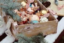 Pastel and vintage christmas