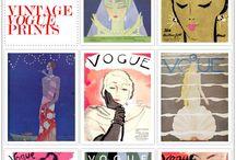 Mags: Vintage  Vogue