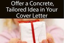 Cover Letter tips / Tips for cover letters for job application.