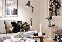 Almofadas e Luminárias / Inspirações para uso de almofadas e luminárias