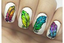Cute Freehand Nail Art / Nail Art