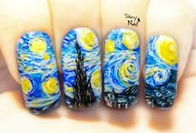 Famous Paintings & Artwork Nail Art / Nail Art