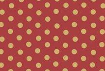 Dots & Stripes Wallpaper