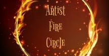 ⇼Artist Fire Circle⇼ / Our intent is to inspire all who participate to share your creativity, as well as others ~ Handmade Items and Supplies Only ~ We will work and gather around this fire while simultaneously supporting our fellow artisans. We ask that you preserve a mutual commitment to respect each other and to pin and share (LIMIT 2 pins per day) here and keep the fire burning ~ Have fun and share the Love ~ Deanna and Kent ❤