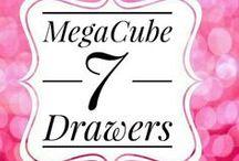 Acrylics Organizers - MegaCuebe 7 Drawers
