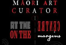 MAORI ART Curator / Connection to a blog site:   https://pihirau.co.nz/blog/   where I discuss my involvement with NZ curatorial history