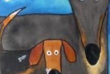 Kindergarten Art Ideas / by Sue Spice