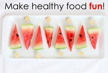 Healthy Kid Snacks and Lunches / by CafeMom