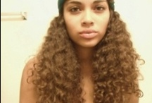 Natural Curly Hair Inspiration / Inspiration to wear my hair curly.