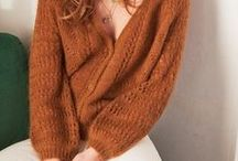 Knitspiration / Inspirations for knitting - shapes, colors and patterns