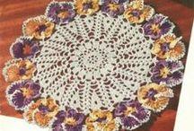 Crochet Doilies/Coasters / Crochet dollies and coasters